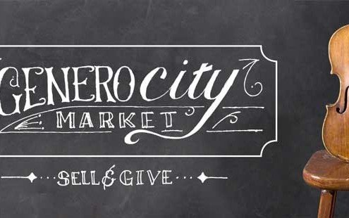 GeneroCity Market will take place on Saturday, May 2, 2015.
