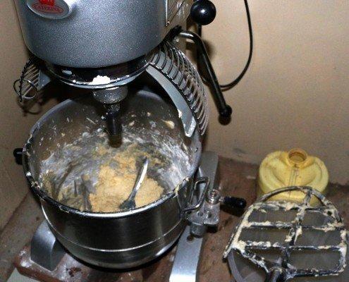 Salem Orphanage bakery mixer