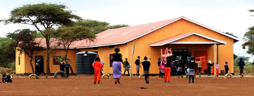 Lenkai multi-purpose building in Kimana, Kenya
