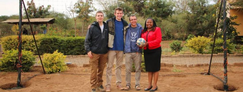 Duke Engage Students in Kenya at Lenkai Christian School