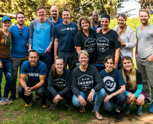 Just One Africa 2017 Experience Trip Team