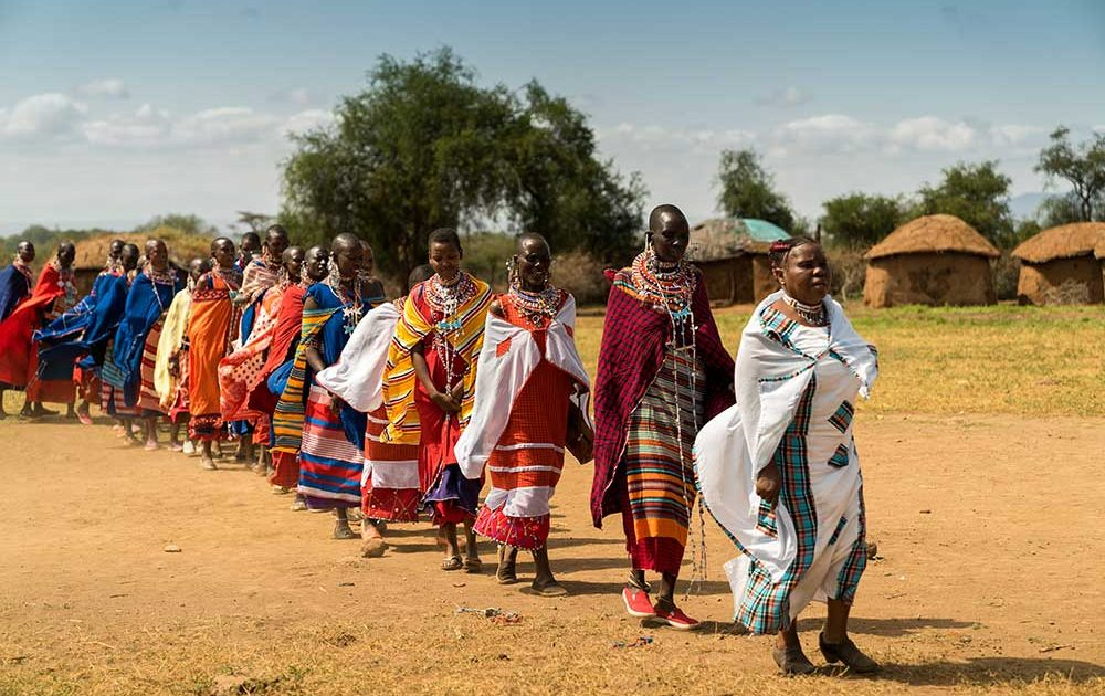 Maasai community women
