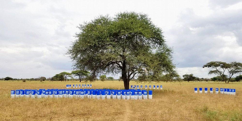 Uzima Filters setup and ready for distribution