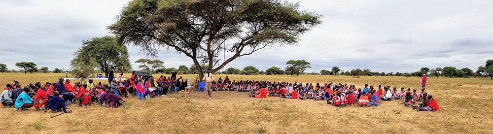 Water Filter Distribution in Southern Kenya