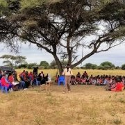 Maasai Filter Distribution under an acacia tree