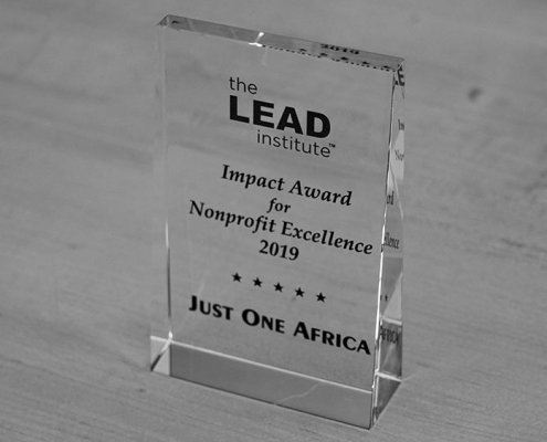 Just One Africa receives Impact Award for Nonprofit Excellence in 2019