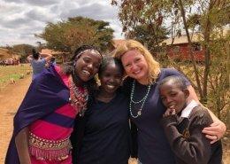 Christina Hightower - Program Director and her friends