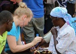 Rose Salensky is a Just One Africa Volunteer