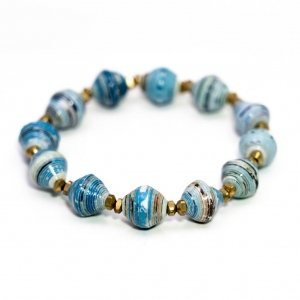Caribbean waters multi-signature bracelet