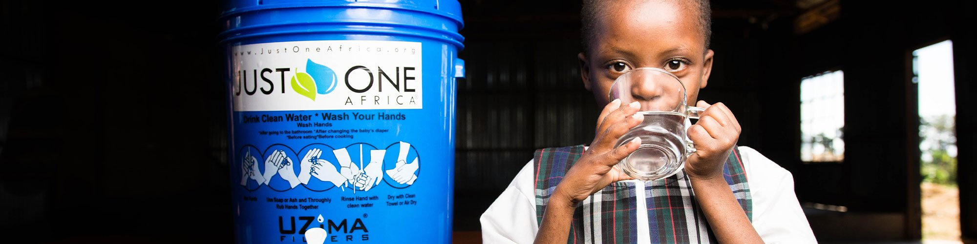Just One Africa provides clean water and sustainable solutions