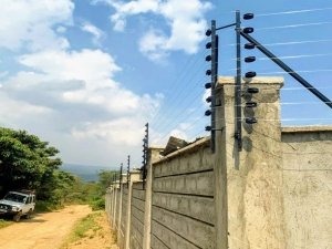Valley Light Security Wall and Electric Fence