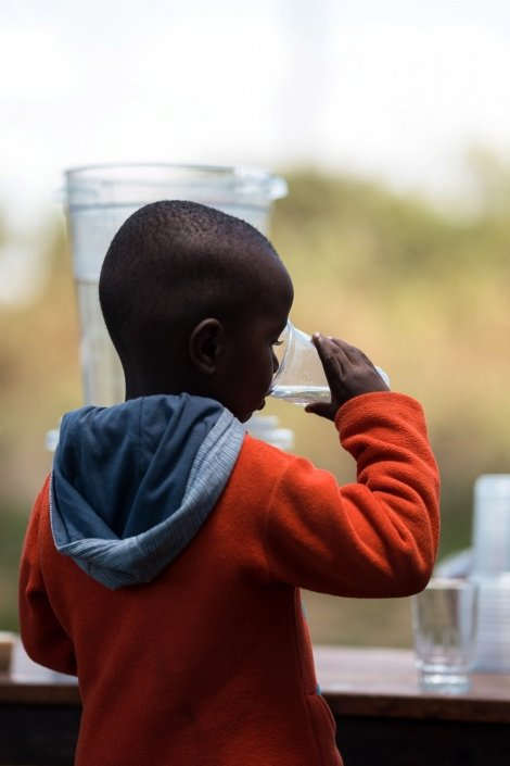 Just Add Water - little boy so thirsty for clean water