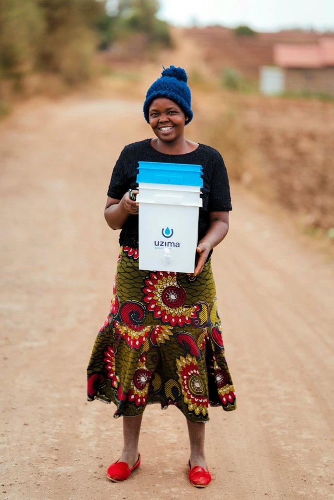 Just Add Water - Headed home to her family with Clean Water