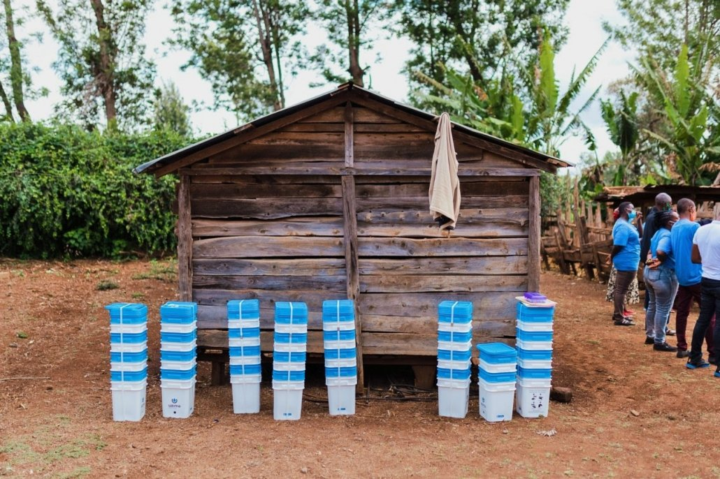 Just Add Water - Filters ready for distribution training
