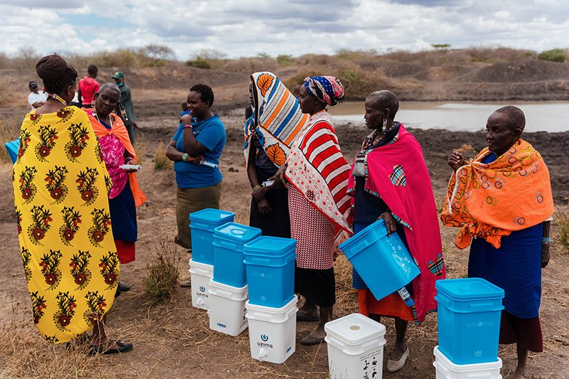 Water Filter Distribution - Small Group Training