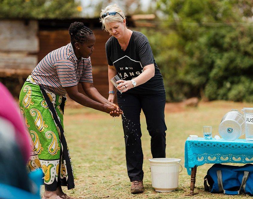 Sanitation and Hygiene Training