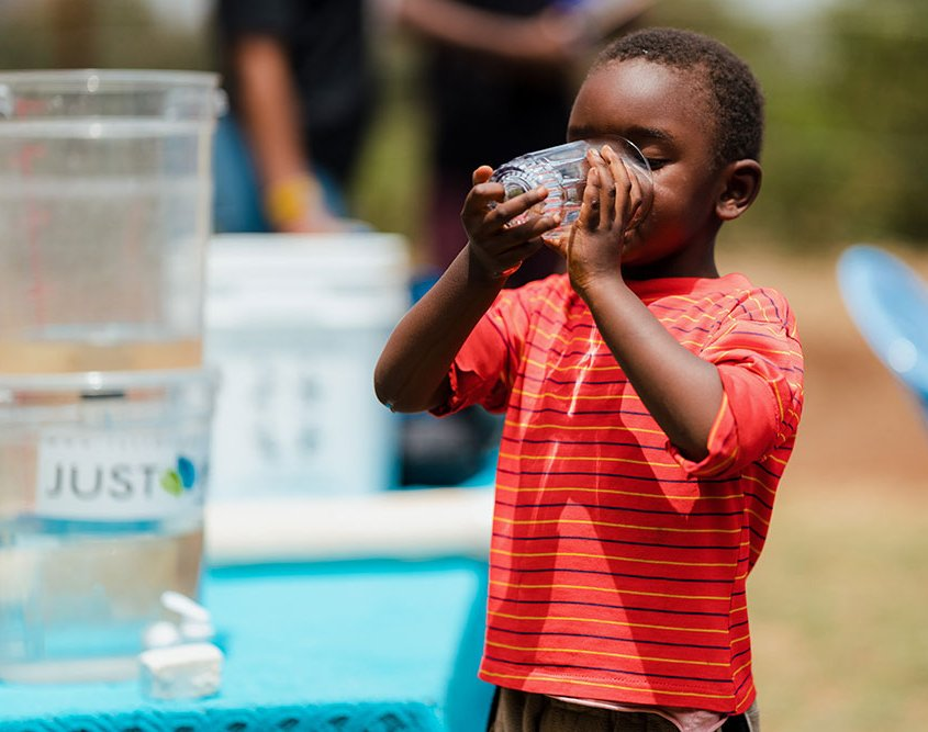 Drinking Pure Clean Water - Tastes So Good!