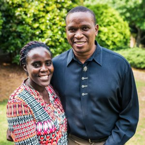John and Leah Njoroge