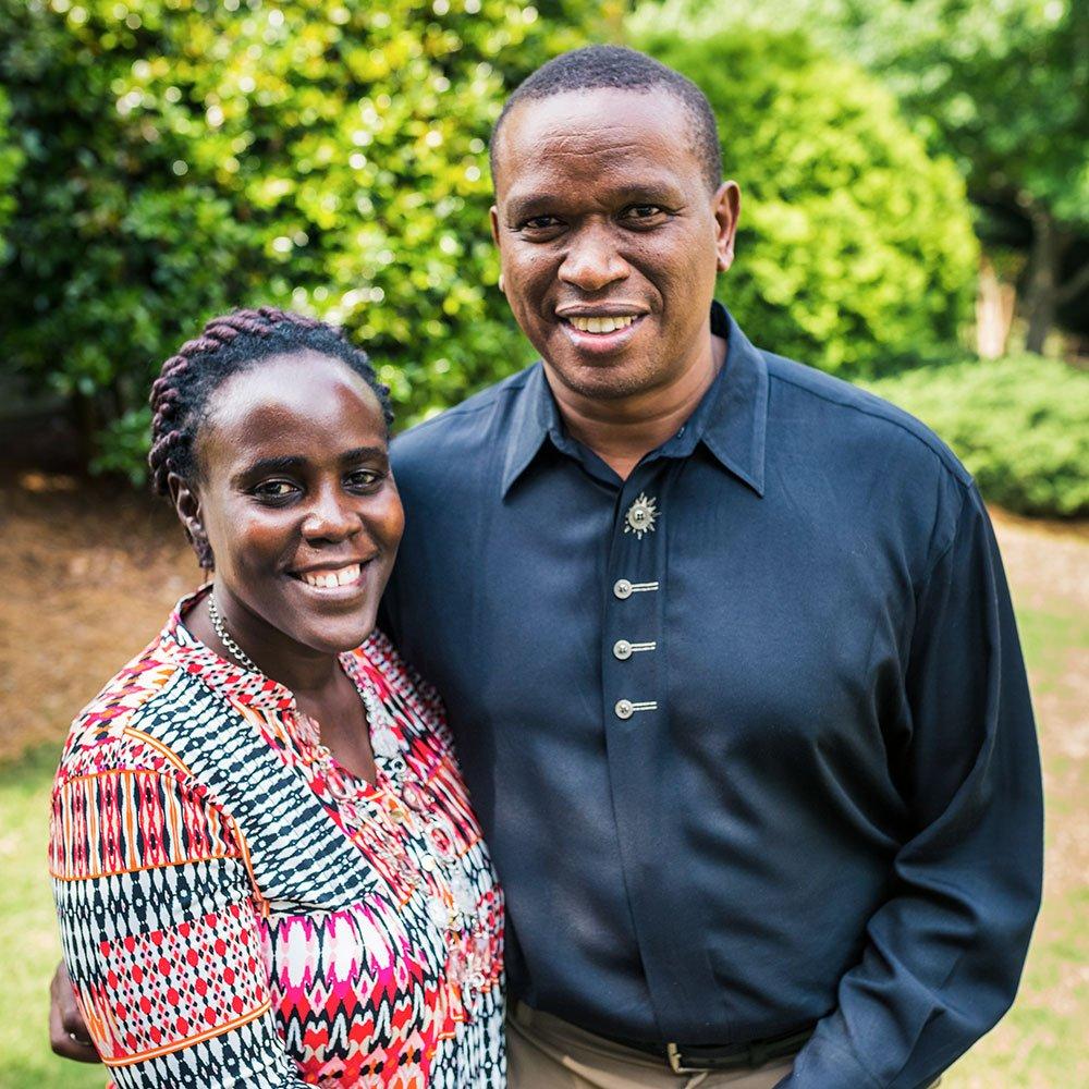 John and Leah Njoroge